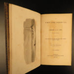 1825 Arctic Exploration Private Journal of George Lyon Parry Eskimos Illustrated