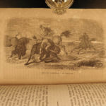 1856 Fremont Illustrated American Exploration California Rocky Mountains Smucker