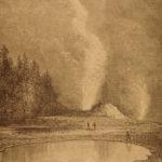 1892 1st ed California Illustrated American West Travel Yellowstone Redwood Tree