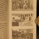 1825 1ed America Scenes Columbus Cortes Native American Indians MAP Lewis Clark