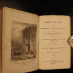 1835 1ed William Parry North Pole Voyages Eskimos Navigation Arctic Exploration
