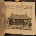 1749 Voyages CHINA Chinese Temples Idols Boats Fishing Confucius ATLAS MAPS Silk Imperial Throne, Coins, Music, Theatre & more!