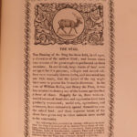 1821 1st ed Impressions of Animals Silver Buttons Engravings Illustrated HUNTING