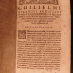 1630 PLUTARCH Parallel Lives Latin Alexander the Great Pericles Xylander Vellum
