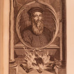 1714 Church Council of CONSTANCE Reformation Heresy JAN HUS Execution Portraits