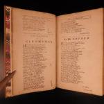 1701 1ed Works of John Dryden Lucretius Ovid Metamorphoses Flecknoe Poems FOLIO