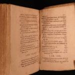 1598 RARE Lipsius Admiranda History of ROME Italy Travel Guide & Roman Glory