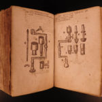 1659 Chauliac Grande Chirurgie Medieval Surgery Medicine French Joubert Illustrated