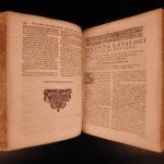 1612 Chasseneuz Catalogus Mundi Encyclopedia of Science Mathematics Medicine