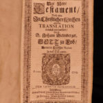 1705 RARE Catholic German Bible Sacra Biblia Dietenberger anti Luther FOLIO