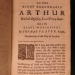 1677 1st ed Yarranton England Improvement Economics Dutch Wars London Fires Beer