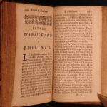 1697 Abelard & Heloise Forbidden Love Amorous Philosopher Medieval French Lit