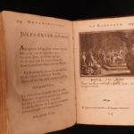 1697 Ovid Metamorphoses in Rondeux Benserade Roman Greek Mythology Illustrated