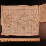 1806 Voyages Captain James Cook Australia Hawaii Astronomy Illustrated MAP 7v