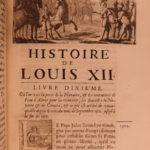 1688 1st ed History of Louis XII King of France Naples Italian WARS Varillas 3v