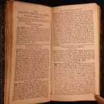 1743 1st Bentham ed Book of Common Prayer Psalms Church of England Liturgy Bible