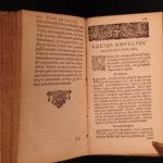 1657 Lucius Florus History of Ancient Rome + Ampelius Liber Memorialis Salmasius
