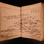 1786 KYOTO Travel Guide Scenic Picture Edo JAPAN Japanese Illustrated Woodblock