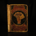 1866 1ed FIRST POKER RULES American Card Player Euchre Gambling Strategy Games