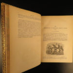 1849 John Froissart Chronicles Medieval Hundred Years' War Chivalry Illustrated