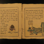 1896 1st ed Japanese Fairy Tales Wonderful Tea Kettle Badger Illustrated Tokyo