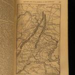 1865 Tenney Military & Naval History CIVIL WAR Slavery Emancipation Gettysburg
