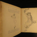 1871 1st ed Acrobats & Mountebanks CIRCUS Le Roux PT Barnum Illustrate Clowns