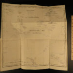 1853 1st ed Erskine Journal of Cruise Pacific Islands Tonga Fiji Polynesia MAP