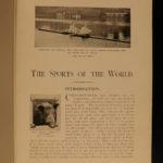 1903 Sports of the World Golf Maori Sports Tiger HUNTING Military Cricket India