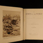 1903 Sports of the World Golf Maori Sports Tiger HUNTING Military Cricket India