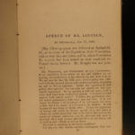 1860 1st ed Life of Abraham Lincoln & Hamlin SLAVERY Douglas Debates pre Civil War