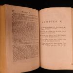 1771 PLATO Dialogues Republic Socrates Alcibiades Greek Philosophy OXFORD Latin