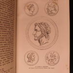 1825 Alexander the Great Quintus Curtius Rufus Greece Latin Illustrated War MAPS