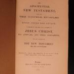 1820 1ed Apocryphal New Testament Bible Apocrypha Christian Legends William Hone
