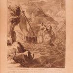 1795 Temple of Muses FAMOUS Mythology Engravings of Abraham Diepenbeck Dutch ART