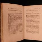 1744 Meteorology Banbury Rules of Weather Change Newtonian Philosophy Newton