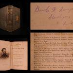 1865 1st ed Maine in Civil War Sgt Savage SOLDIER PROVENANCE Union Tactics