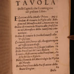 1640 1ed Catholic Orders Rituals of Most Holy Annunciation NUNS Prayer Monastics