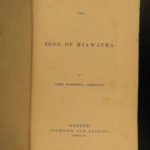 1855 1ed 1st printing Song of Hiawatha Henry Longfellow Poetry Native American