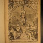 1875 Harper's Weekly PT Barnum Indians White SLAVES Gn Sheridan Illustrated HUGE