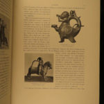 1902 1ed Medieval French ART & Architecture Illustrated 2v Molinier Exposition
