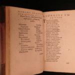 1571 Fabricius Virorum Illustrium Famous Lives ROME Josephus Tacitus Strabo