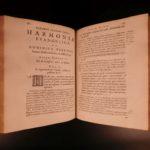 1656 1ed Gospel Harmony & Life of Jesus Christ Dutch Protestant Vossius Elzevier