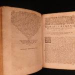 1584 Medicine & Surgery Augenio Curandi Renaissance Plague Bloodletting Galen