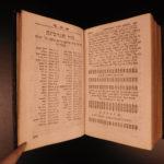 1756 Hebrew Bible TORAH Leipzig Biblia Hebraica Judaica Breitkopf Reineccius