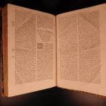 1588 HUGE FOLIO Homilies of Saint Chrysostom Bible & Commentary Homosexuality