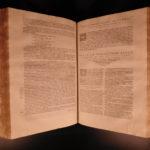 1588 FOLIO Homilies of Saint Chrysostom Superstition Flavian & Theodosius ROME