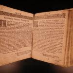 1716 German Cochem Bible Life of Jesus Christ Capuchin Catholic Asceticism RARE