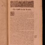 1679 Richard Baker Chronicle of Kings of England BIZARRE Dragons Monsters Wars