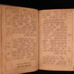 1608 1ed BIBLE Psalms of David Hebrew Latin Plantin Polyglot Pagnino & Montano